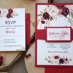 Autumn Shabby Chic Wedding Invitations