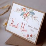 Autumn Wedding Thank You Cards