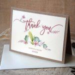 Cactus Thank You Cards
