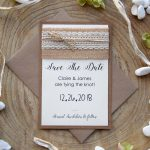 Rustic Fall Save The Dates