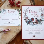Custom Winter Wedding Invitations