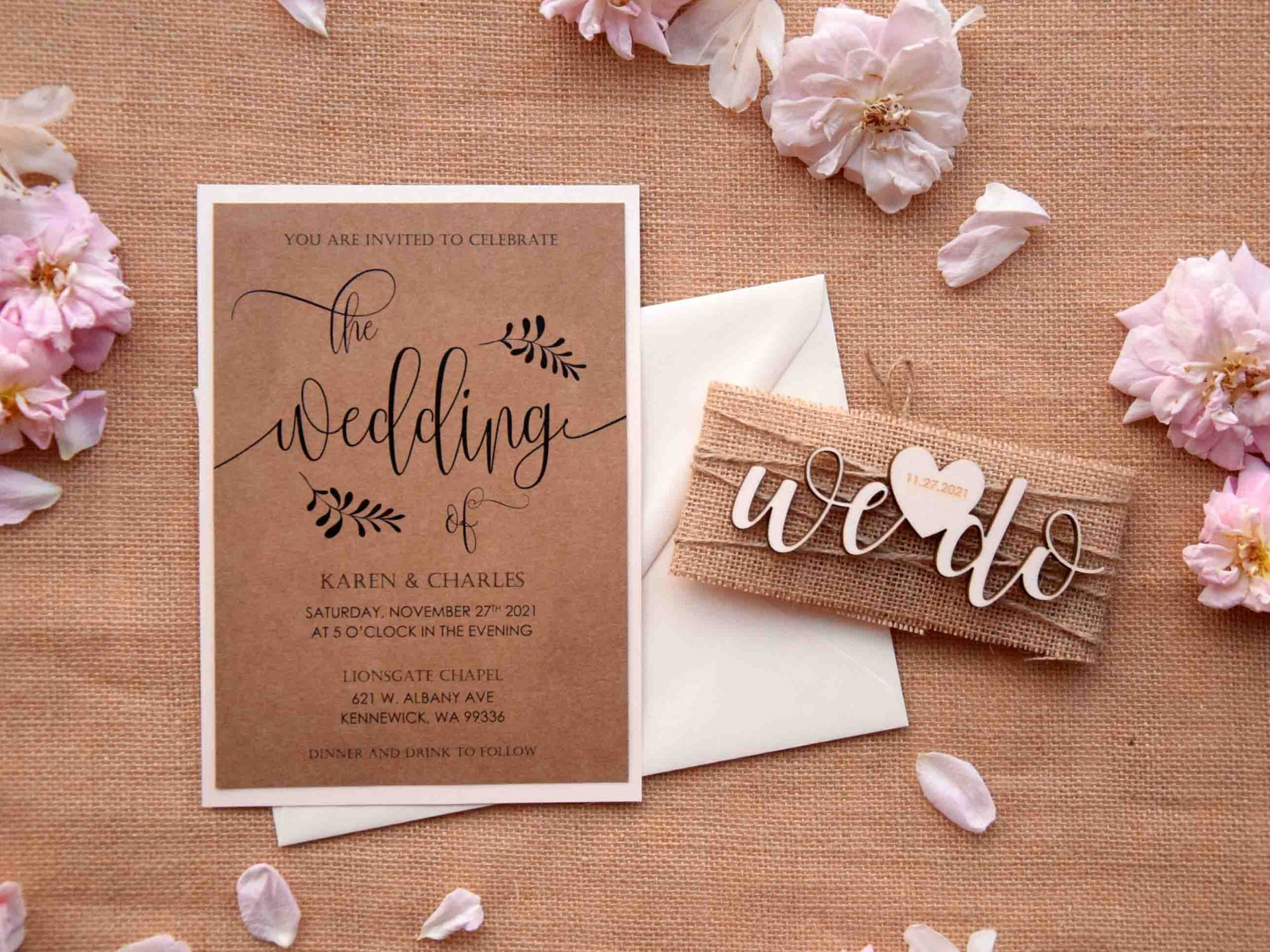 We Do Wedding Invitations