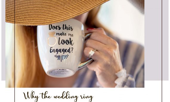 Why the Wedding Ring is work on the Left Hand?