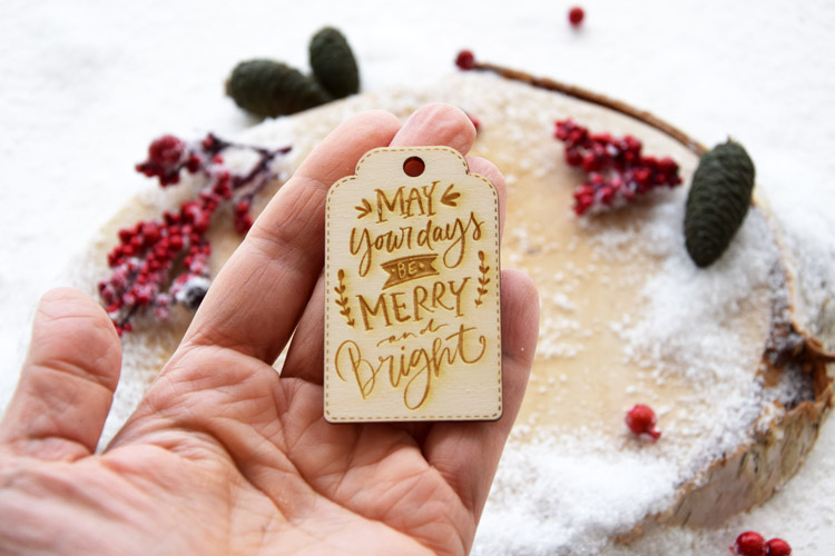 May Your Days Be Merry and Bright Tag