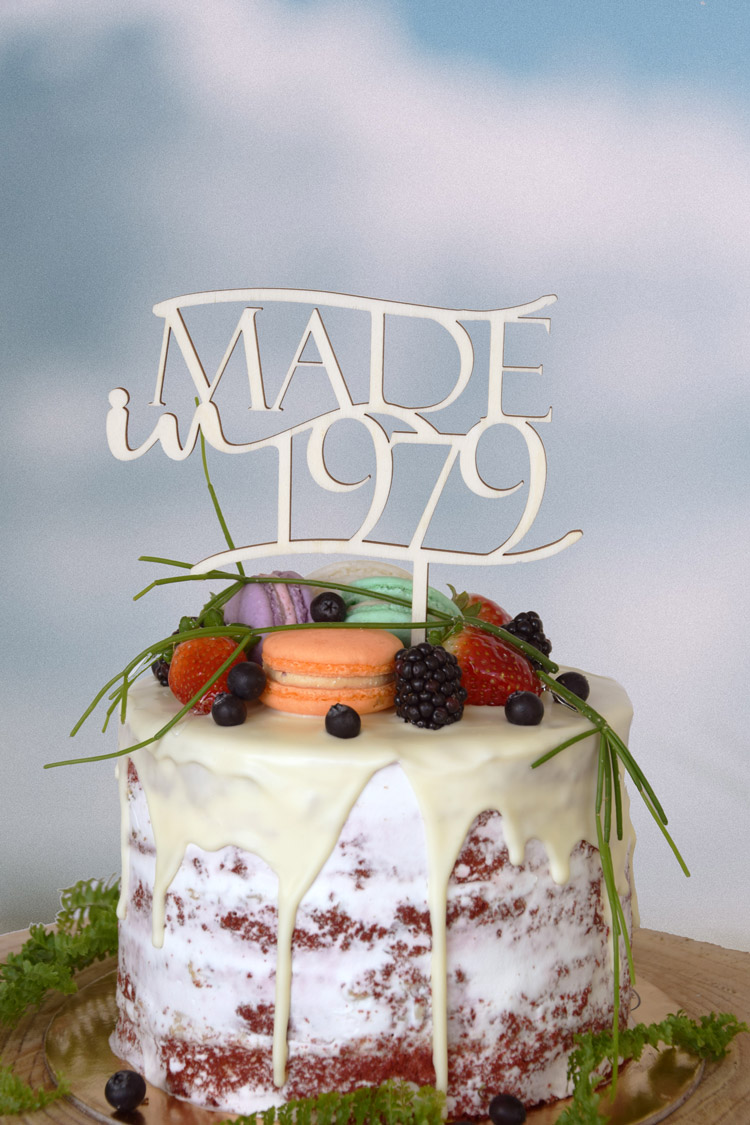 """Made in""Cake Toppers"