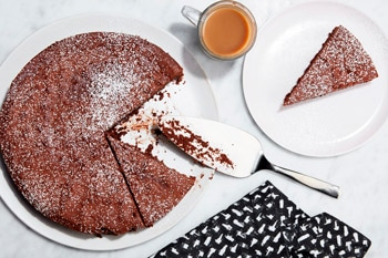 Baked Flourless Cake