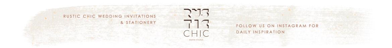 Rustic Chic Paper Studio - PaperStudioByC